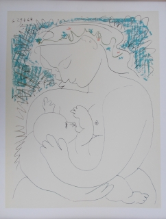 Pablo Picasso: Mother and Child
