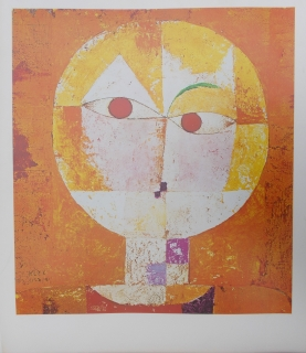 Paul Klee: Senecio, Head of a Man 1922